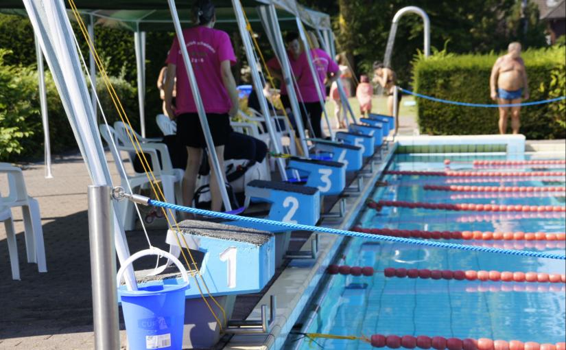 Dieses Wochenende: 24h Schwimmen