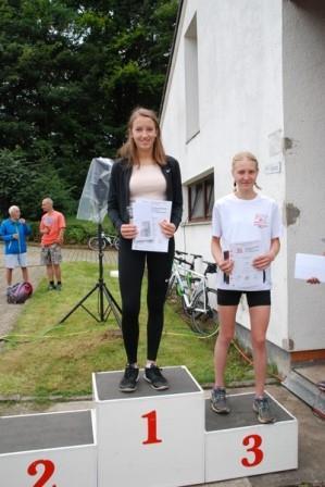 Isabelle Weyland erfolgreich in Hückeswagen